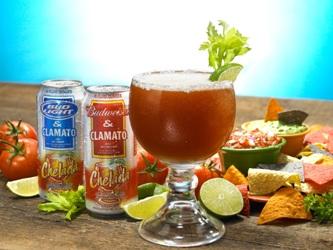 Anhueser Busch Budweiser Clamato Chelada