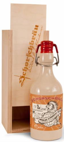 worlds stongest beer - Schorschbräu Schorschbock 57%