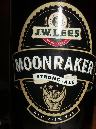 Funny Beer Names - Moonraker