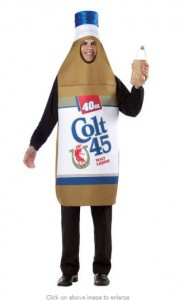 Liquor Bottle Costumes http://www.boozingear.com/blog/2011/10/12/halloween-beer-costumes/