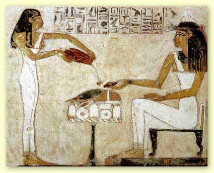 The History of Beer - Egyptian woman
