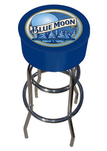 Blue Moon Classic Logo Bar Stool