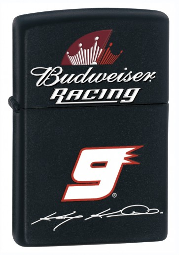Budweiser  Kasey Kahne #9 Black Zippo