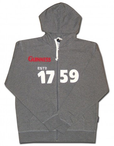 Guinness 1759 Zip-Up Sweatshirt