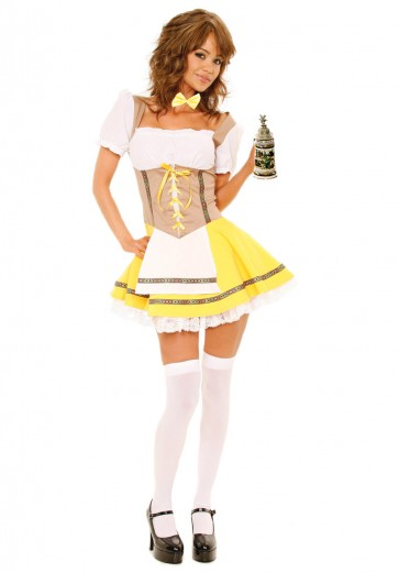 Bavarian Beer Maiden Costume