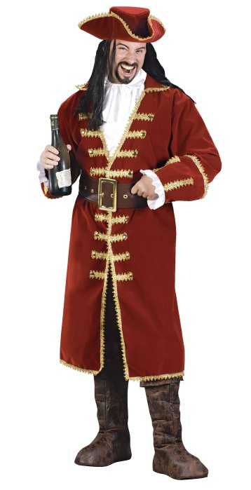 Unofficial Captain Morgan Men's Costume