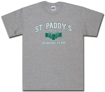 St. Paddy's 'Drinking Team' T Shirt