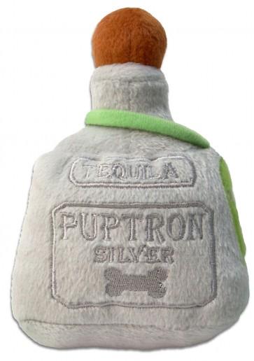 Puptron Tequila Dog Toy Plush Dog Squeaker Toy