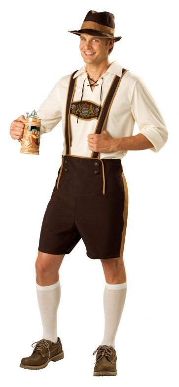 Bavarian Beer Guy Costume : Lederhosen