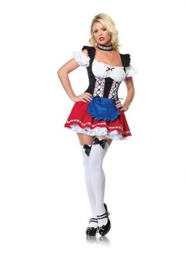 Frisky Fraulein Costume : Four Color Beer Girl