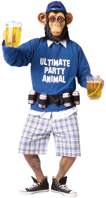 Ultimate Party Animal Costume : Monkey