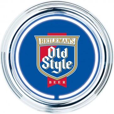 Old Style Beer Neon Clock