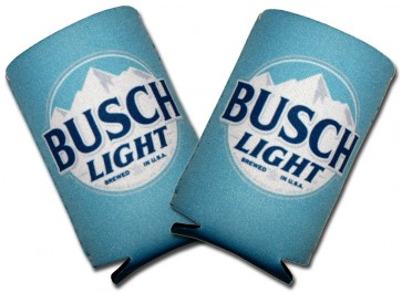Busch Light Sky Blue Collapsible Coozie Set
