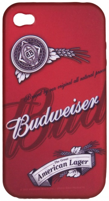 Budweiser Soft Cover 4G/4S iPhone Case