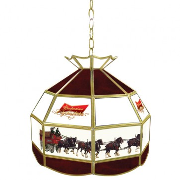 Budweiser Clydesdale Horses Tiffany Lamp Fixture