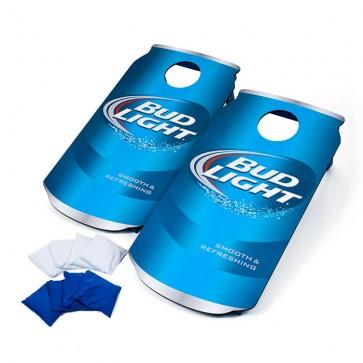 Bud Light Cornhole Beer Can Board Set