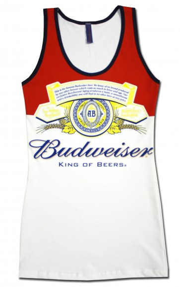 Budweiser Long Bottle Women's Tank Top
