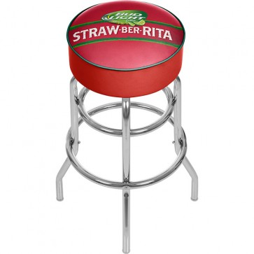 Bud Light Straw-Ber-Rita Bar Stool