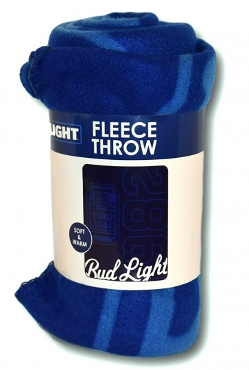 Bud Light Signature Fleece Blanket