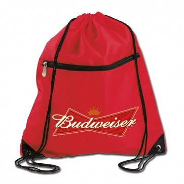 Budweiser Travel Cinch Bag