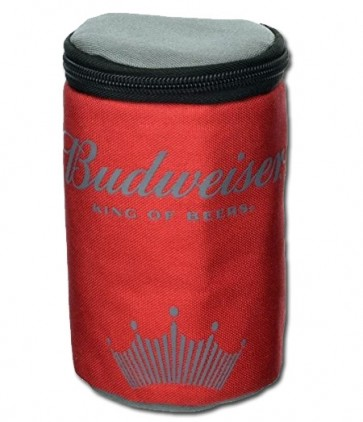 Budweiser Insulated Red Travel Can Cooler
