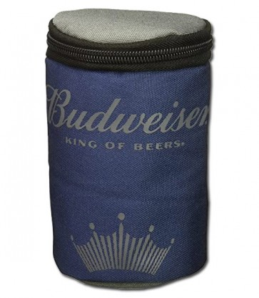 Budweiser Insulated Navy Travel Can Cooler