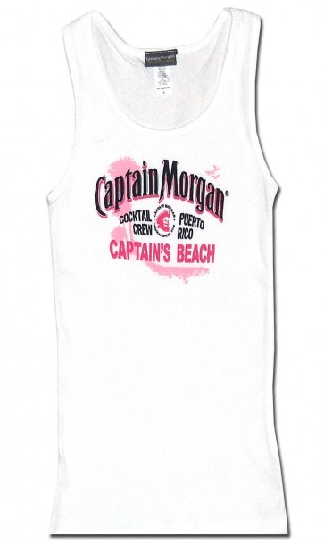 Captain Morgan Women's Tank : Captain's Beach