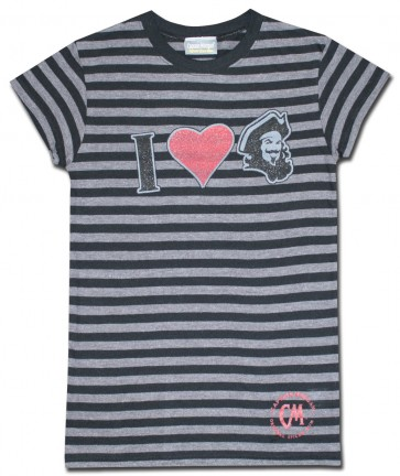 Captain Morgan Black Stripes Women's Shirt