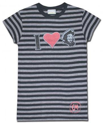 Captain Morgan Black Stripes Women's Shirt