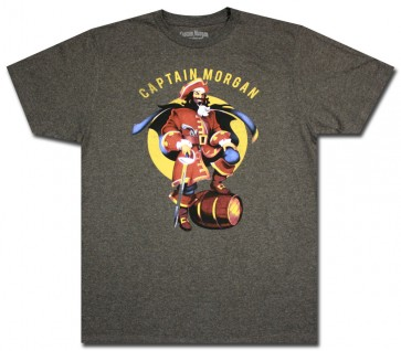 Captain Morgan Charcoal Pose T Shirt