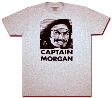 Captain Morgan Face Off T Shirt