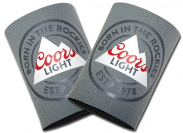 Coors Light Rockies Can Coozies