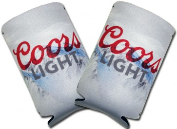 Coors Light Mountain Collapsible Coozie Set