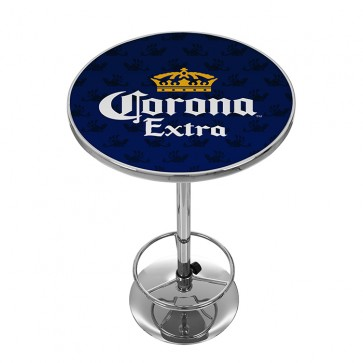 Corona Extra Navy High Top Pub Table