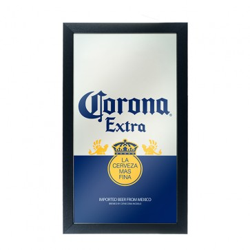 Corona Extra Beer Label Bar Mirror