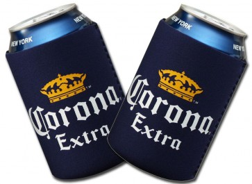 Corona Extra Navy Collapsible Koozie Set