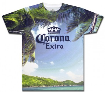 Corona Extra Beach Sublimation T Shirt Boozingear Com
