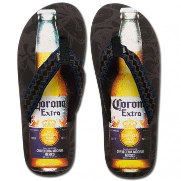 Corona Extra Bottle Flip Flop Sandals