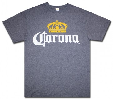 Corona Navy Crown T Shirt