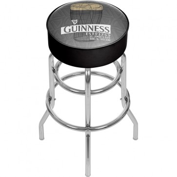 Guinness Pint Art Bar Stool