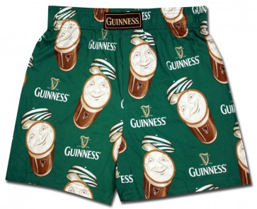 Guinness Green Pints Boxer Shorts