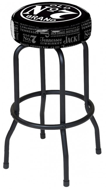 Jack Daniel's Saloon Logo Bar Stool