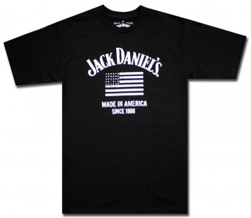 Jack Daniel's Made In America T Shirt