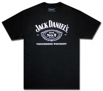 Jack Daniels's Whiskey Classic Cartouche T Shirt