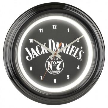 Jack Daniels Old No. 7 Neon Clock