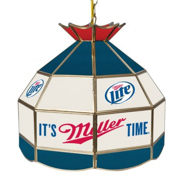 Miller Lite Light Fixture : Tiffany Lamp