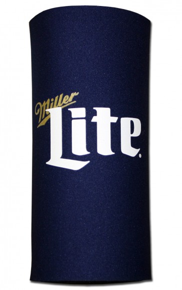 Miller Lite Navy 24oz Can Koozie