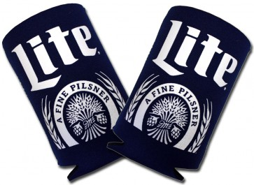 Miller Lite Pilsner Collapsible Coozie Set