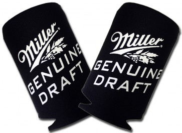 Miller Genuine Draft Collapsible Coozie Set