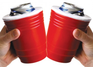 Red Cup Coozie Set